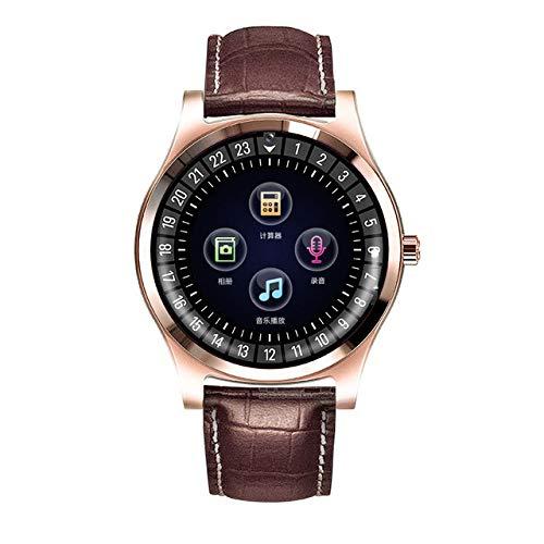 MeterMall Smart Watch R68 Bluetooth Rond Scherm Smartwatch Ondersteuning SIM TF-kaart Slaap Tracker Oproep Herinnering Stappenteller Bluetooth Mannen Horloge