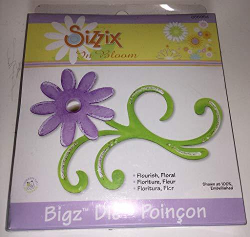 Sizzix Bigz - Cortador de troqueles, diseño floral