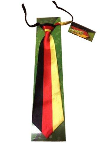 Krawatte Binder in den Nationalfarben Deutschland