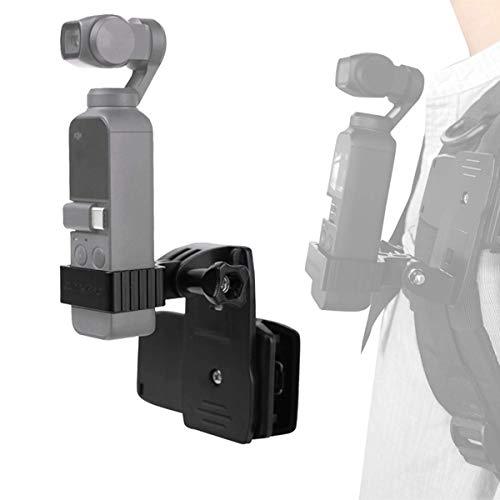 iEago RC CNC Aluminium Telefoonhouder set Expansie Accessoires Beugel Monopod Stand, Quick Release Voor Hoed, Tas, Rugzak Voor DJI Osmo Pocket/ACTION Handheld Gimbal Camera Rugzak Clip