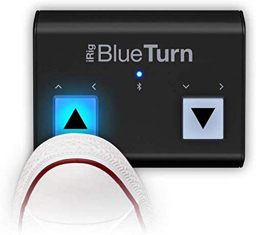 IK Multimedia iRig BlueTurn wireless page turner for smartphones and tablets