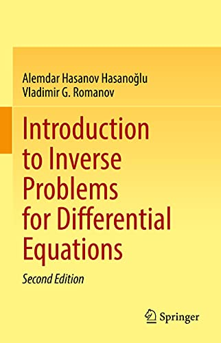 Introduction to Inverse Problems for Differential Equations (English Edition)