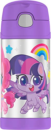 THERMOS FUNTAINER 12 Ounce Bottle, Little Pony