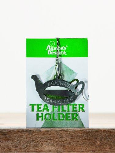 Herbaria Halter für Teefilter (Edelstahlspange), 1 Pack