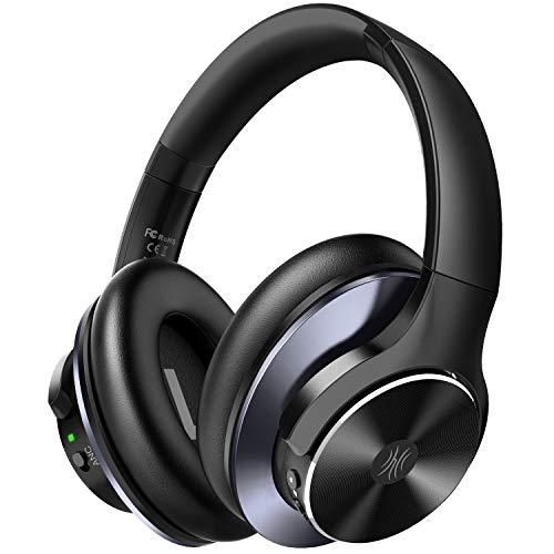 Noise Cancelling Kopfhörer, OneOdio Bluetooth Kopfhörer Over Ear [2020 Neuestes Modell] Headphones 40 Std. Spielzeit Mikrofon CVC 8.0 Typ-C Schnellladen Faltbar für Smartphones iOS Android TV