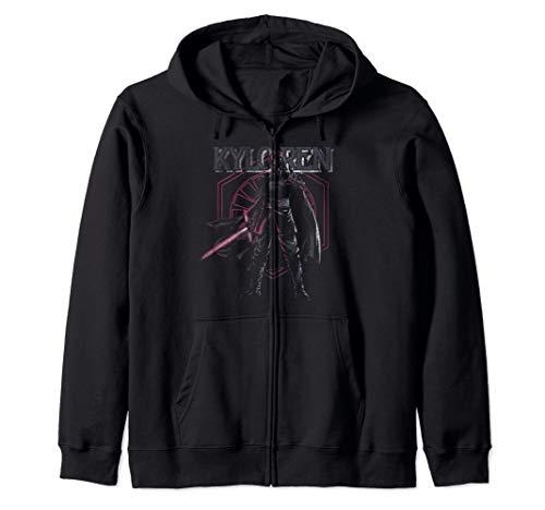 Star Wars The Rise of Skywalker Kylo Ren First Order Symbol Zip Hoodie