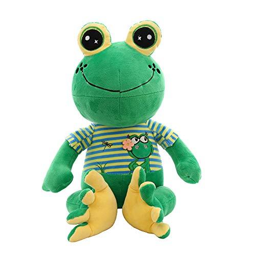 STKASE® Felpa Rana muñeca Grande Animal de Peluche Almohada Gigante Juguete Animal muñeca de Peluche Juguete niños Gran Ojo Rana Almohada Green,90cm
