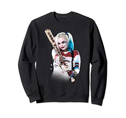 Suicide Squad Harley Quinn Bat At You Sweatshirt
