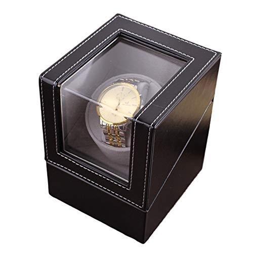 Xin Watch Winder, Se Puede Añadir 1 Reloj, Ultra Silencioso Motor Anti-magnético, con Suave Y Flexible Tabla Almohada, Tamaño 160 * 130 * 120mm Xin (Color : Brown)