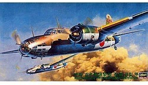51212 1 72 Nakajima Ki-49-II KOH Type 100 Ltd Ed by Hasegawa