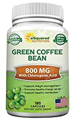 in budget affordable Natural Extract from Green Coffee Beans – 180 Capsules – Best Performing GCA Antioxidant Cleanser…