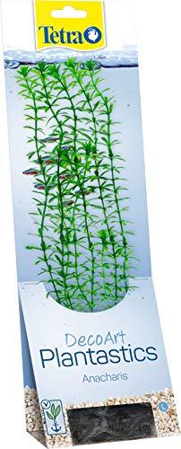 Tetra DecoArt künstliche Wasser-Pflanzen für das Aquarium, naturgetreue Nachbildung, Grüne Anacharis