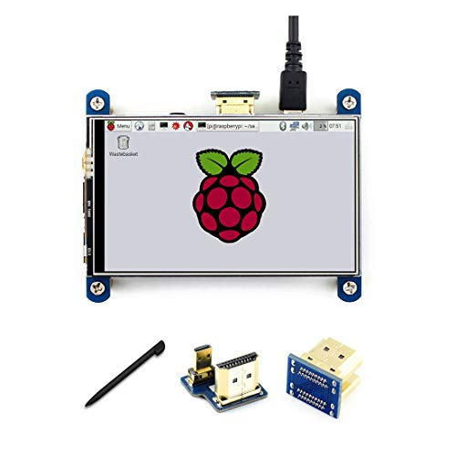 4 inch HDMI LCD Touch Control Screen Resistive 800 * 480 Resolution IPS Interface for for Raspberry pi3B+/3B/2 B/B+/A