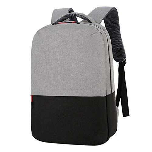 Freizeit Computer Rucksack, 15,6 Zoll Multifunktional Mit Großer Kapazität Schulranzen, Leicht Zu Tragen, Geeignet Für Reisen Und Camping (Black)