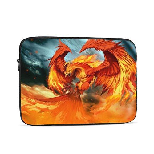 Fire Phoenix Funda para portátil, Bolsa de Transporte Funda para Chromebook Funda para portátil Funda para Tableta, 10 Pulgadas