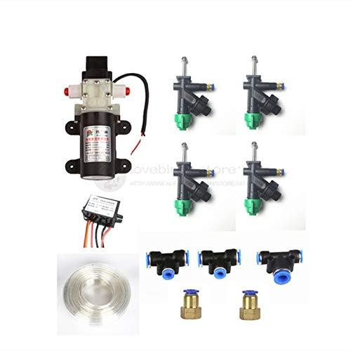 Accessories DIY 5/10/15/20KG Spray kit Water Pump, Nozzle,Pump Buck ESC,connectors, Pipes for 5L/10L/15L/20L Agriculture Drone Sprayer - (Color: Screw Fixed)