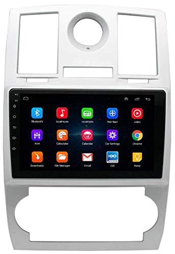 SSeir Coche Radio GPS Android 9.1 No Reproductor de DVD Navi para Chrysler 300C 2000-2014 Coche HD Pantalla táctil BT WiFi NAVEGET Cabe Unidad ESTÉRE AUTORADIO NAVI AUTORADIO