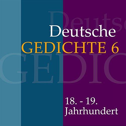 Deutsche Gedichte 6 - 18. - 19. Jahrhundert Titelbild