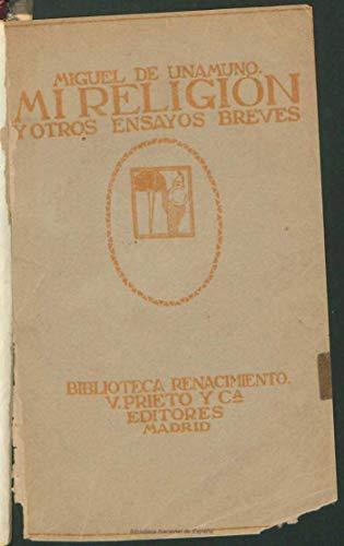 Mi religión y otros ensayos breves (Spanish Edition)