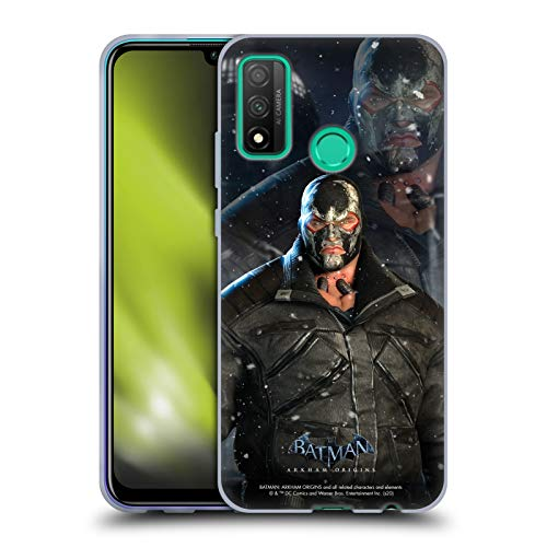 Head Case Designs Oficial Batman: Arkham Origins Bane Characters Carcasa de Gel de Silicona Compatible con Huawei P Smart (2020)