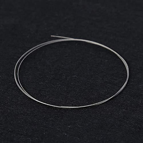 YUQIYU 1 m piedra vidrio sierra de alambre responden DIY diamante de corte esmeralda del diamante del metal