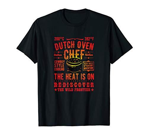 Dutch Oven Chef Dutch Oven T-Shirt