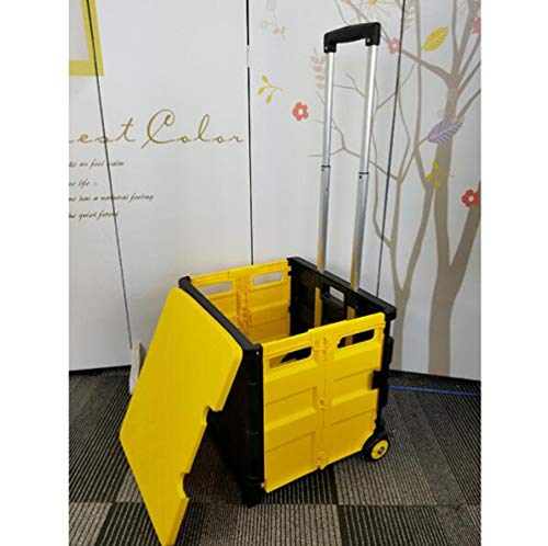 ROYWY Chariot Caddie Course Courses Pliable Caisse...