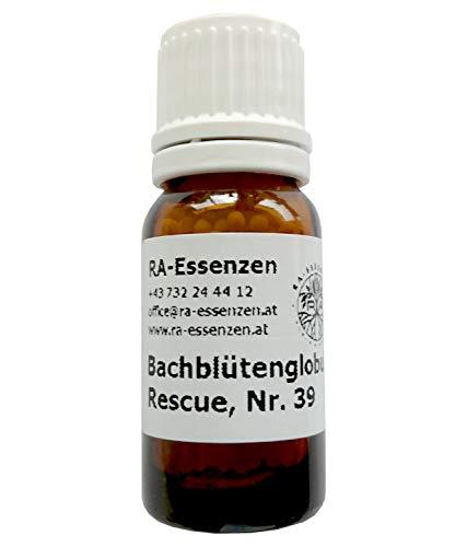 Bachblütenglobuli Nr. 39 Rescue, Erste Hilfe, Notfall, 10g Bio-Globuli, radionisch informiert - in Apothekenqualität