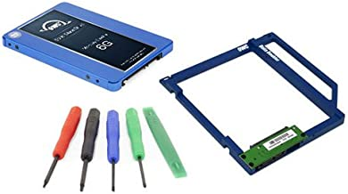 OWC SSD Data Doubler Kit, OWC Electra 1.0TB 6G SSD, Mounting Solution, and Installation Toolkit