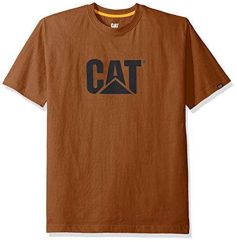 Caterpillar Herren TM Logo Arbeits-T-Shirt, Bronze, Groß