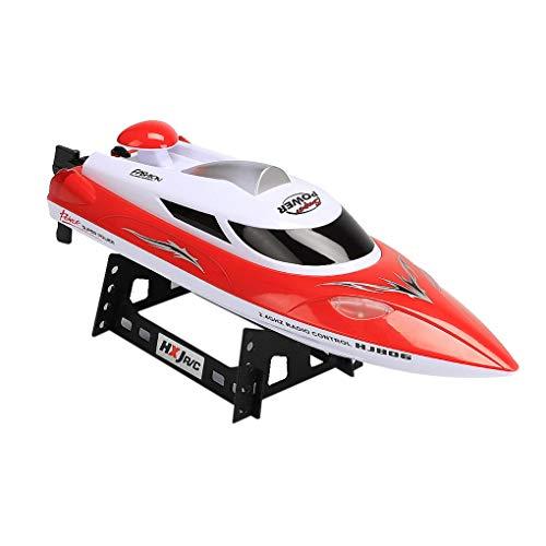 GFCGFGDRG RC Barco de Alta Velocidad 35 kmh Juguete Barco 200m Distancia...