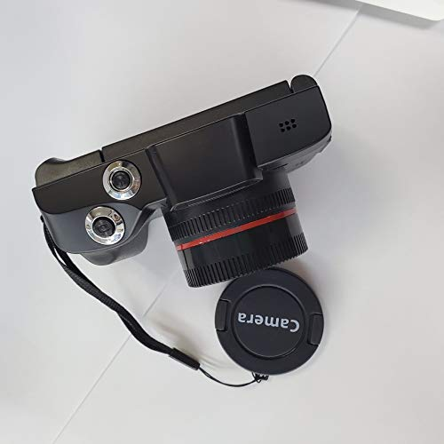elegantstunning Digitalkamera, 6,1 cm (2,4 Zoll), TFT-LCD-Bildschirm, Full HD, 1080P, 16 MP, professionelle Videokamera, Camcorder, Vlogging, Flip Selfie Camcorder, Shortcut