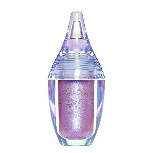Lime Crime Diamond Dew Glitter Eyeshadow, Aurora - Iridescent Grey-Violet-Blue Aqua Lid Topper - Reflective Sparkle Shadow for Lids, Cheeks & Body - Won't Smudge or Crease - Vegan - 0.14 fl oz
