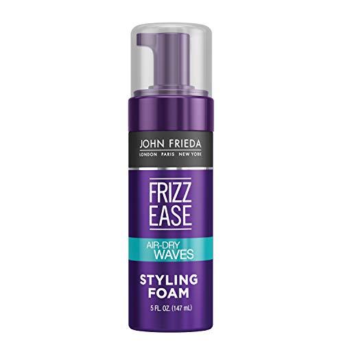 John Frieda Frizz Ease Dream Curls Air Dry Waves Styling Foam, Curl Defining Frizz Control, Hair...