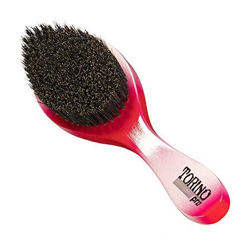 Torino Pro Wave Brushes by Brush king #57- Medium Hard Curve 360 Waves Brush