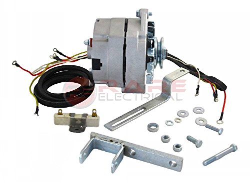 Rareelectrical NEW ALTERNATOR CONVERSION KIT COMPATIBLE WITH FORD NAA TRACTOR...
