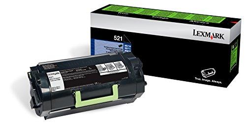 Lexmark 52D1000 Return Program Toner, Black