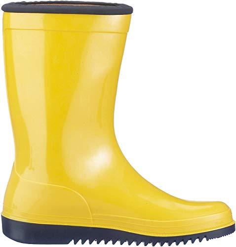 Botas de agua para niños, unisex, color Amarillo