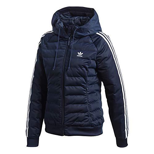 Adidas Damen Slim Jacke, mehrfarbig (Conavy), 34