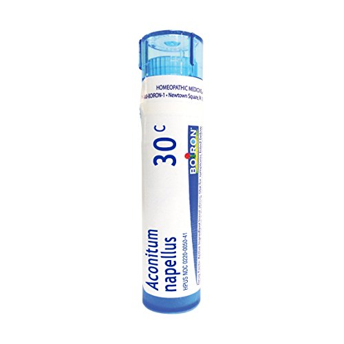 Boiron Aconitum Napellus 30C, 80 Pellets, Homeopathic Medicine for Fever