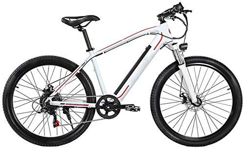 Bici elettrica, Mountain bike 26 pollici e bike moda rimovibile batteria batteria in lega di alluminio mtb intelligente prestazioni stabile bike doppio disco sicurezza freno di sicurezza mtb uomo donn