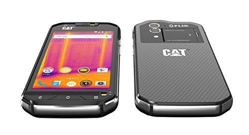 CAT S60 Dual-SIM Smartphone robuste (Écran : 4,7 pouces (11,9 cm) HD, 32Go de ROM, Android Marshmallow, 3800mAh batterie)