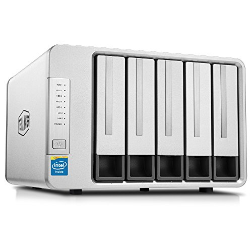 TerraMaster F5-420 NAS 5Bay Cloud Speicher Server Intel Quad-Core 2,0GHz Netzwerkspeicher RAID (Diskless)