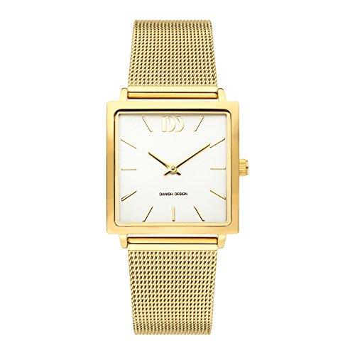 Danish Design dames analoog kwarts horloge met roestvrij stalen armband IV05Q1248