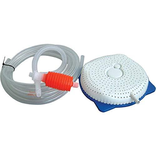 Verloco afvoerset, gereedschappen voor het reinigen van staand water in de winter, voor zwembadafdekking, afvoerpomp met sifon-principe
