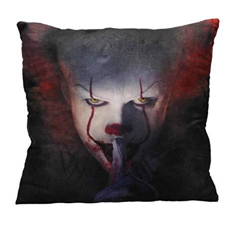 Stephen Kings - Es It - kussen - clown Pennywise - 45 x 45 cm