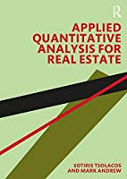 Applied Quantitative Analysis for Real Estate Front Cover