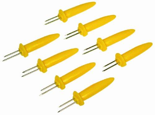 GrillPro 41580 - Soporte para maíz (8 Piezas)