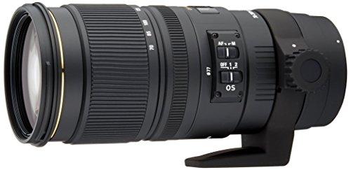 Sigma Sigma 70-200mm f2.8 EX DG OS HSM NAF - Objetivo para Nikon (distancia focal 70-200mm, apertura f/2.8-22, estabilizador) color negro