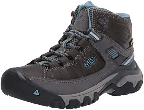 KEEN Women s Targhee 3 Mid Waterproof Hiking Boot Magnet Atlantic Blue 8 5 M Medium US product image
